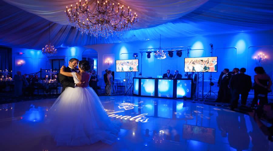 dance floor slider